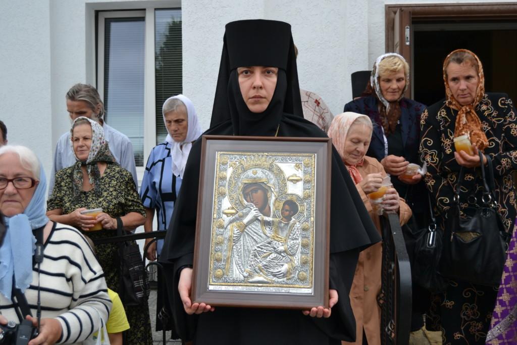 Храмовые иконы Спасского монастыря. Икона Божией Матери «Отрада и Утешение»