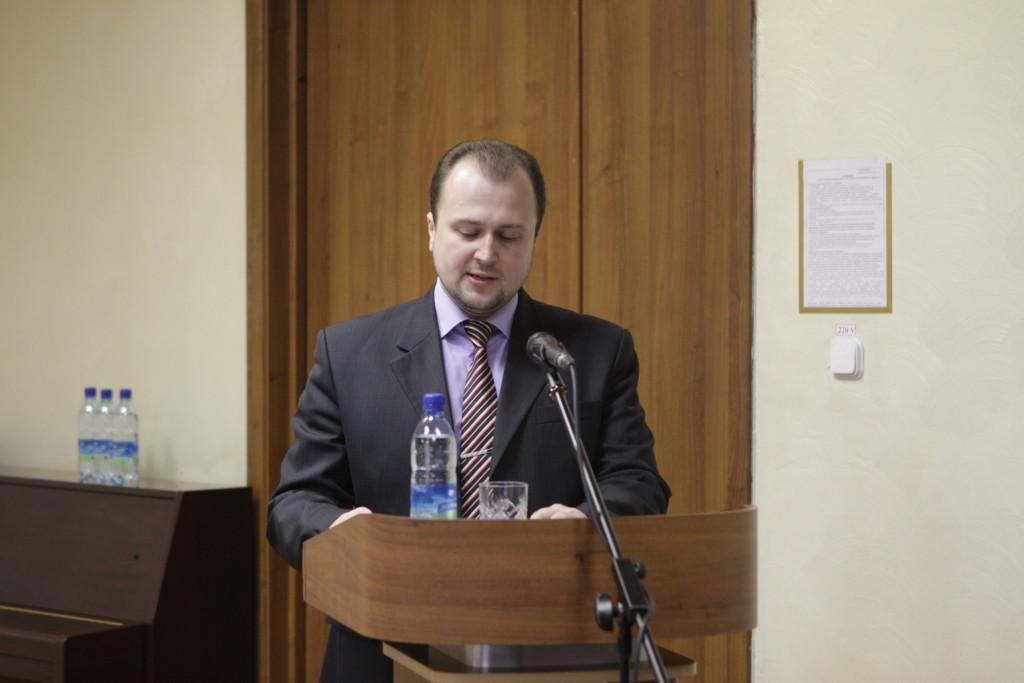 Кандидат богословия, доцент МинДА Слесарев А.В.